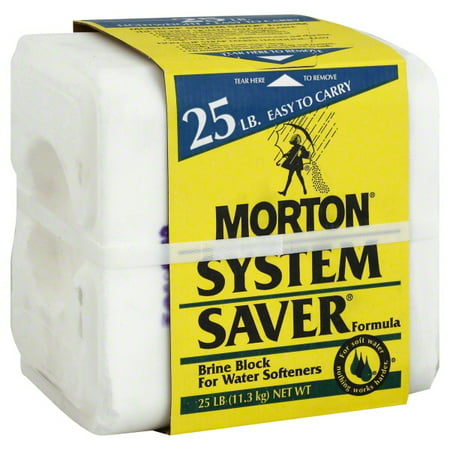Morton Salt 25 Lb System Saver Salt Block