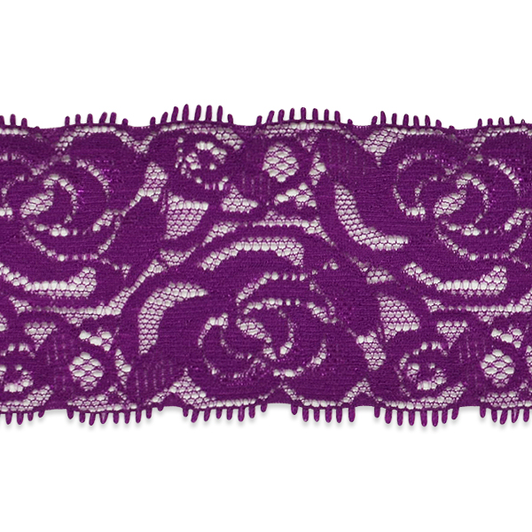 """Expo Int'l 5 Yards of Breanna 2 1/4"""" Stretch Raschel Lace Trim"""