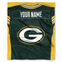 """NFL """"Jersey"""" Personalized Silk Touch Throw Blankets"""