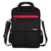 Laptop Backpack Shoulder Bag Sleeve Briefcase, Multi-usage Polyester 11/13/15 Inch Laptop / Notebook Computer / MacBook / MacBook Air / MacBook Pro Carrying Case, Black