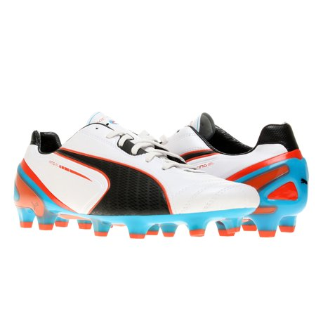 Puma King SL FG Metallic White/Black Men's Soccer Cleats