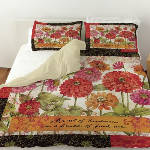 Manual Woodworkers & Weavers Zinnia Duvet Cover