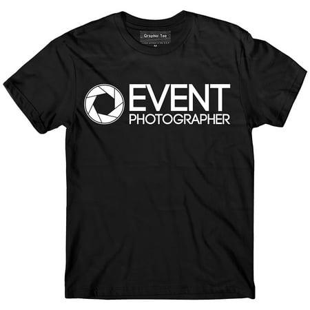 Glow In The Dark Running Gear (PHOTOGRAPHER t-shirt, Event photographer shirt GLOW IN THE DARK, Event)