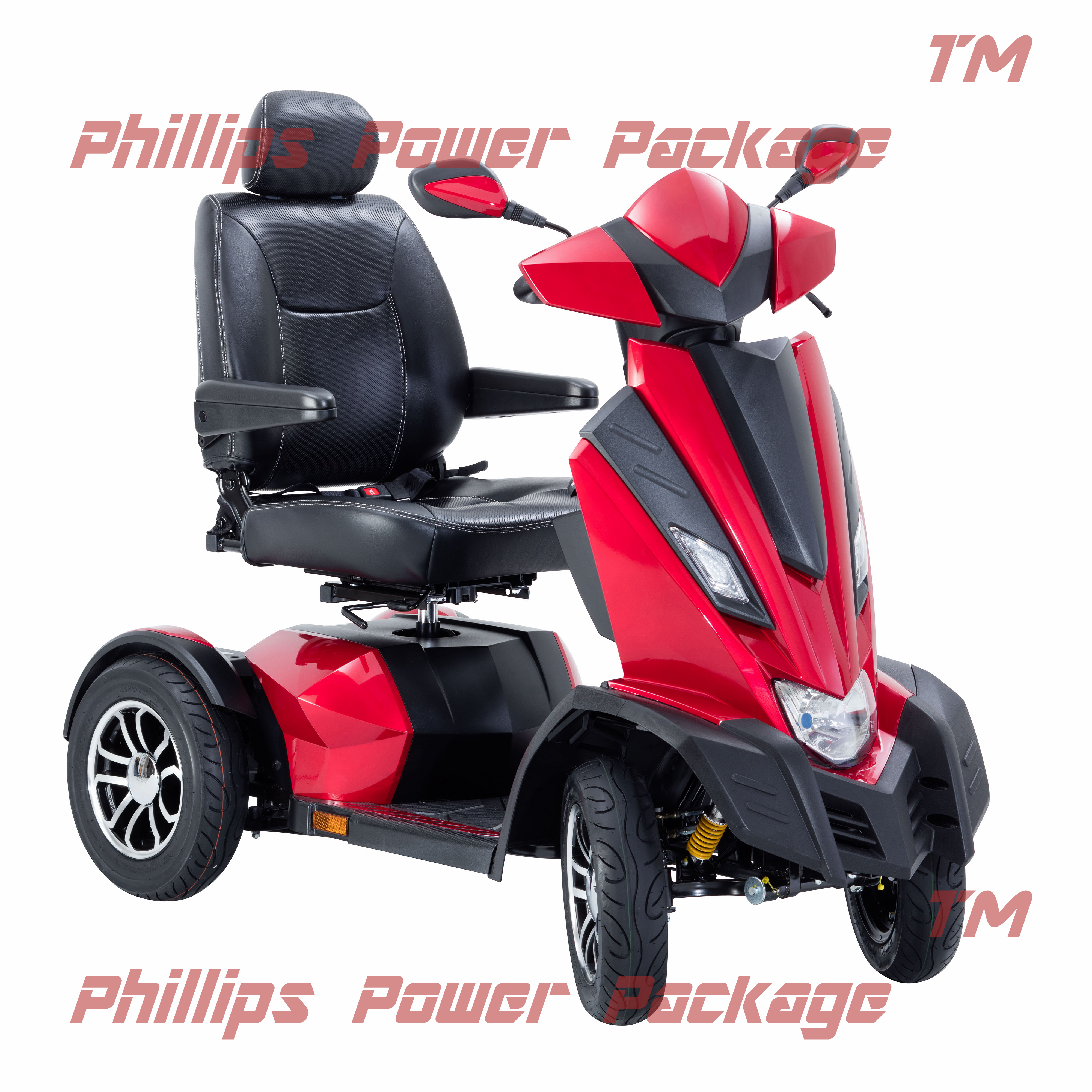 "Drive - King Cobra Executive Power Scooter, 4 Wheel, 22"" Captain Seat"
