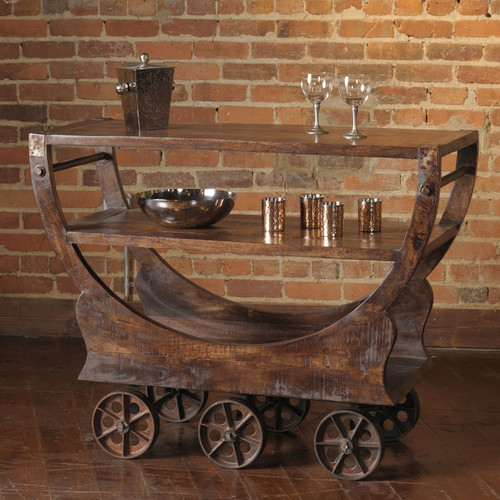 William Sheppee Mill Bar Cart by