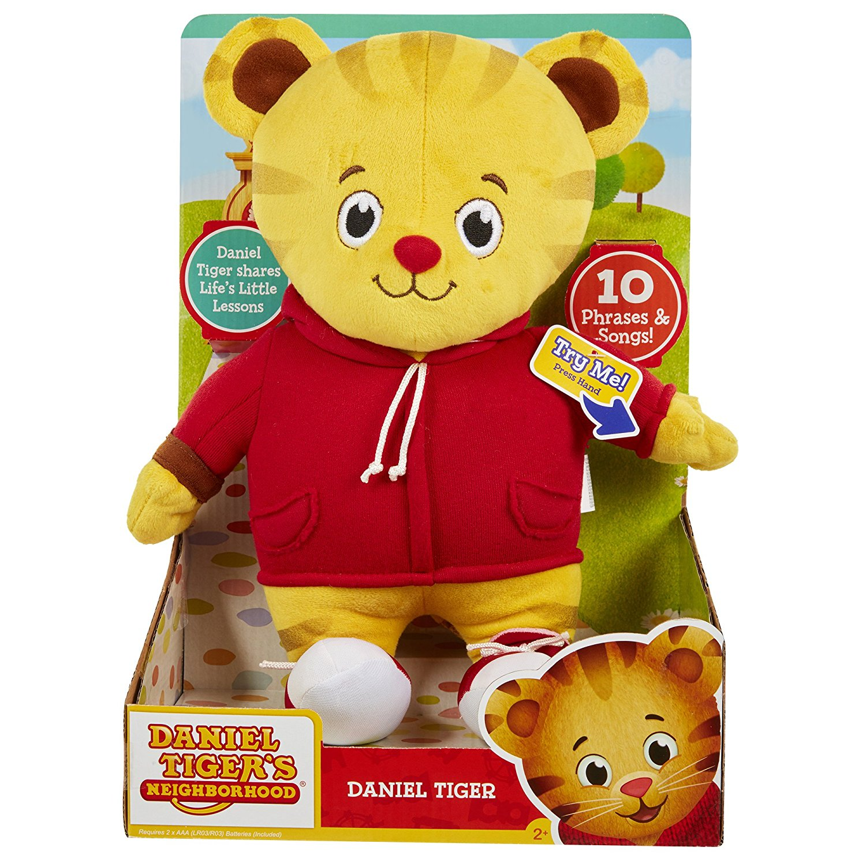 "New Daniel Tiger/'s Neighborhood Friend Plush Toy Talks Sings 12/"" Kids Toddler"