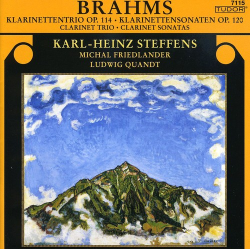 Clarinet Trio Op 144   Clarinet Sonatas Op 120 by TUDOR RECORDINGS