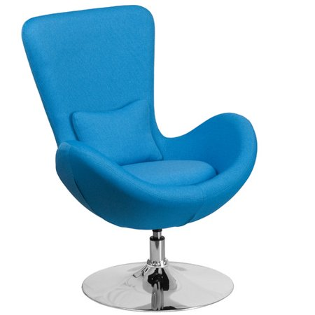 Flash Furniture Fabric Egg Series Reception Waiting Room Chair-Lounge-Side Chair Multiple Colors