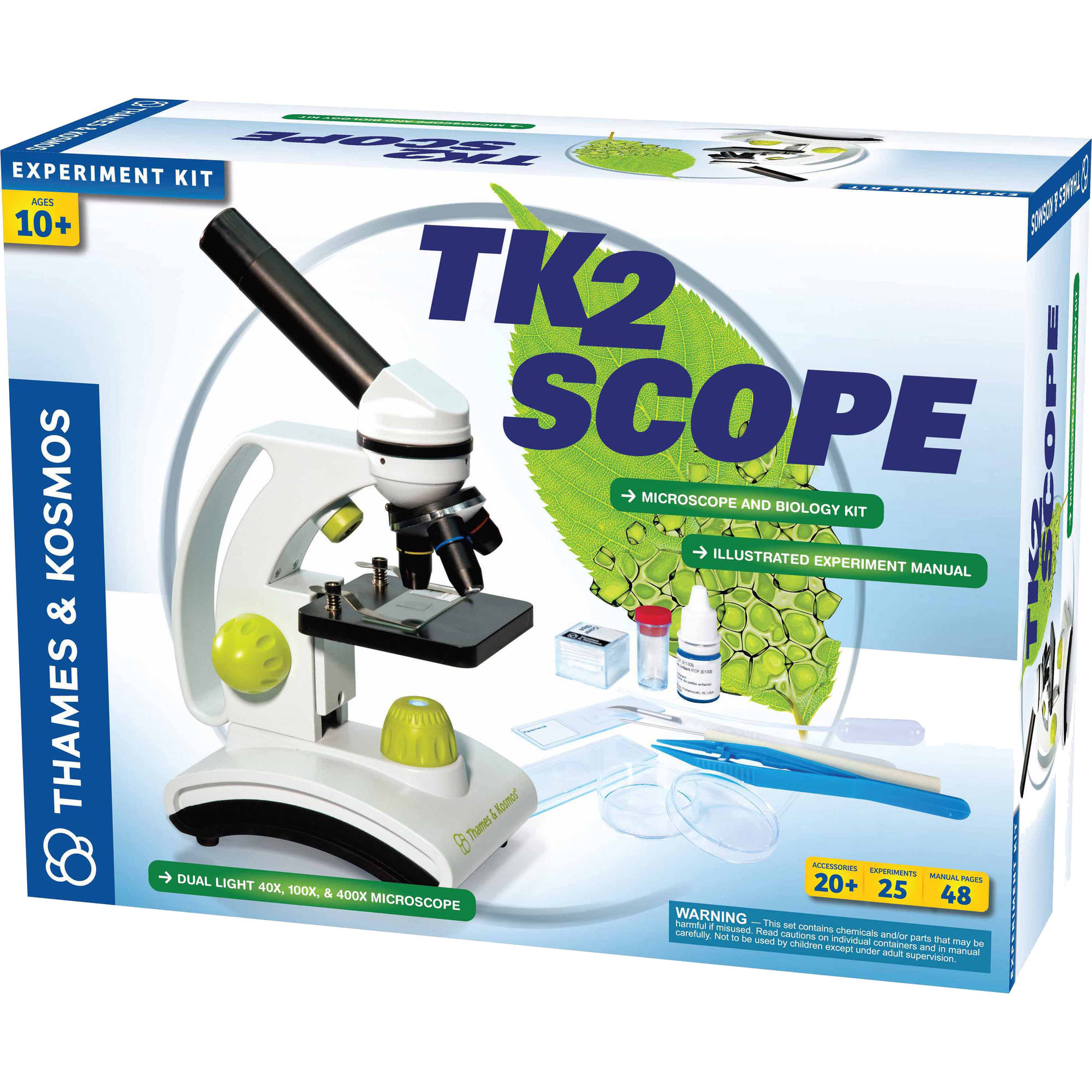 Thames & Kosmos TK2 Scope Science Experiment Kit