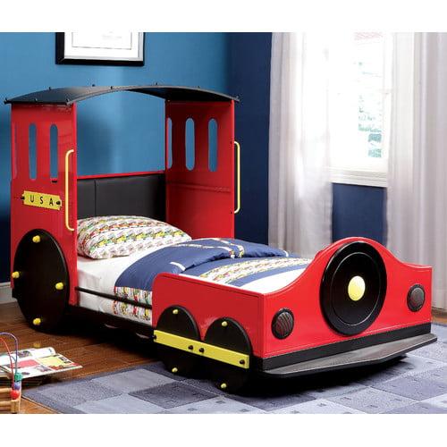 Hokku Designs Tripton Twin Car Bed