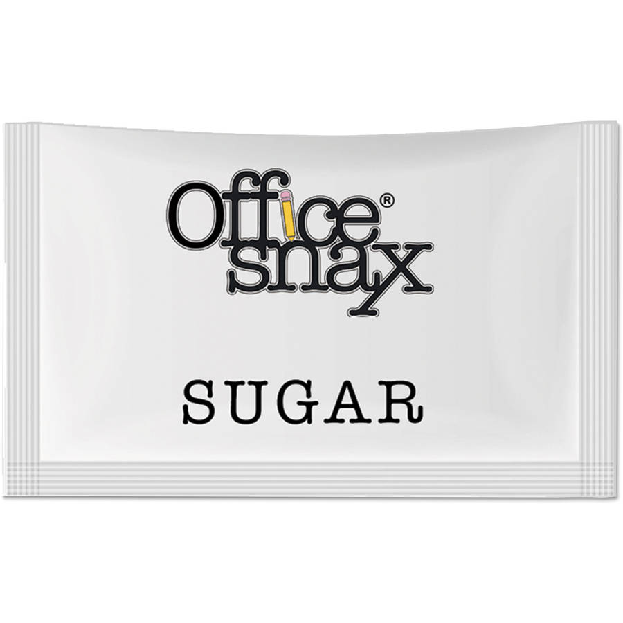 Office Snax Premeasured Sugar Packets, 1200ct
