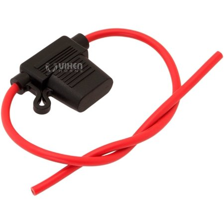 30A In-line Standard ATO Blade Fuse with Waterproof Holder VXA7030 By Vixen Horns Ship from US