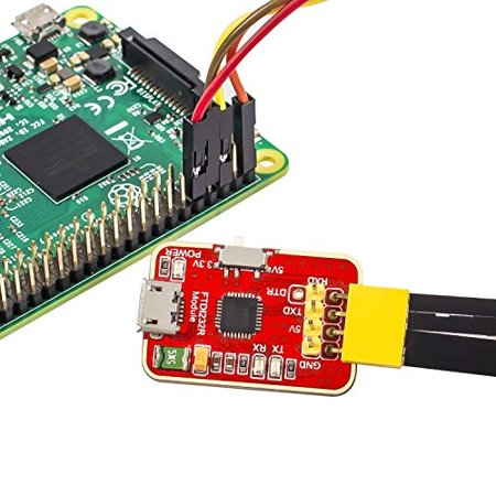 SunFounder FT232RL FTDI USB to TTL Serial Adapter Module 3 3V 5V for  Arduino Raspberry Pi