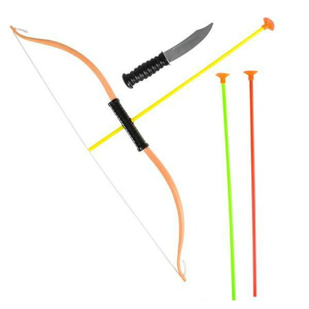 "21"" BOW AND ARROW SET WITH KNIFE, Case of 120 thumbnail"