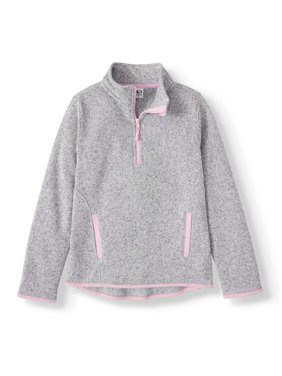Athletic Sweater Fleece Pullover (Little Girls & Big Girls)