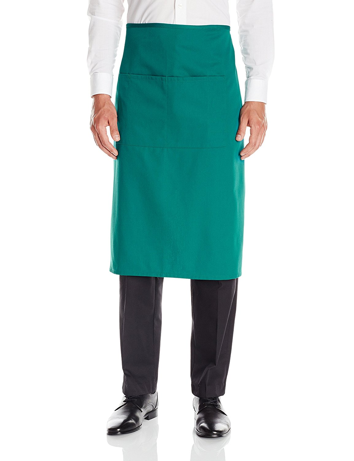 Chef Men's Unisex Waist Apron,Full Bistro,Royal, One Size By Dickies
