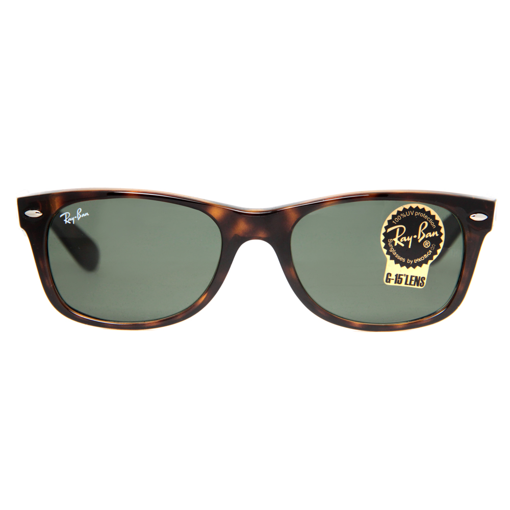 ray ban polarized tortoise shell sunglasses  ray ban men's new wayfarer rb2132 902 52 tortoiseshell wayfarer sunglasses walmart