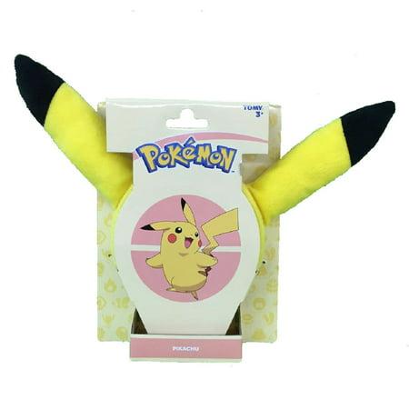 Pokemon Pikachu Ears Small Girls Plush Headband](Pokemom Girls)
