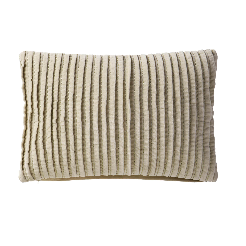 "VCNY Home Velvet Pintuck 14""x20"" Decorative Pillow"