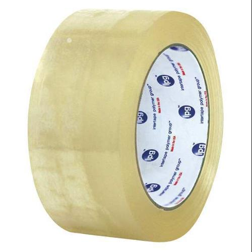 INTERTAPE F4105-05G Carton Tape,Clear,3 In. x 110 Yd.,PK24