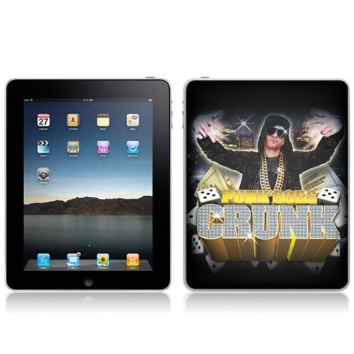 Zing Revolution MS-PUNK10051 iPad- Wi-Fi-Wi-Fi + 3G- Punk Goes Crunk- Punk Goes Crunk Skin