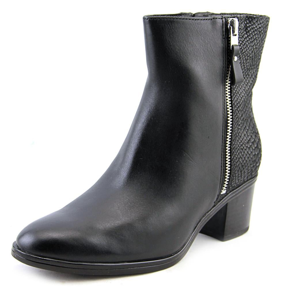 Naturalizer Harding Round Toe Leather Ankle Boot by Naturalizer
