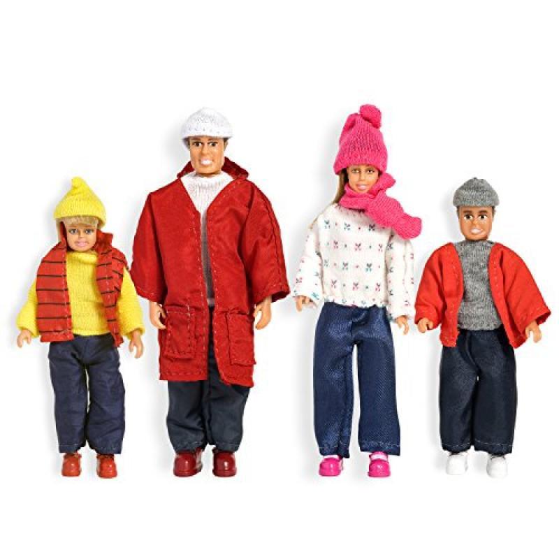 Lundby Smaland Dollhouse Winter Family