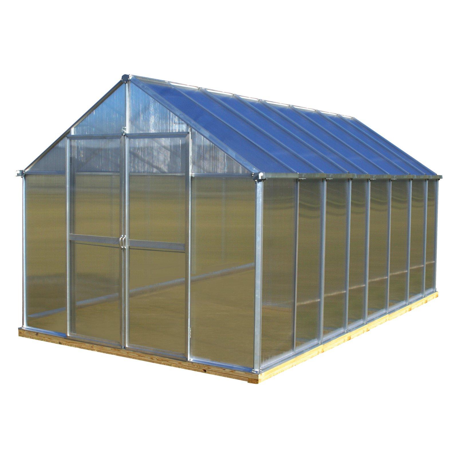 Monticello Monticello 8 x 16 ft. Premium Greenhouse Kit