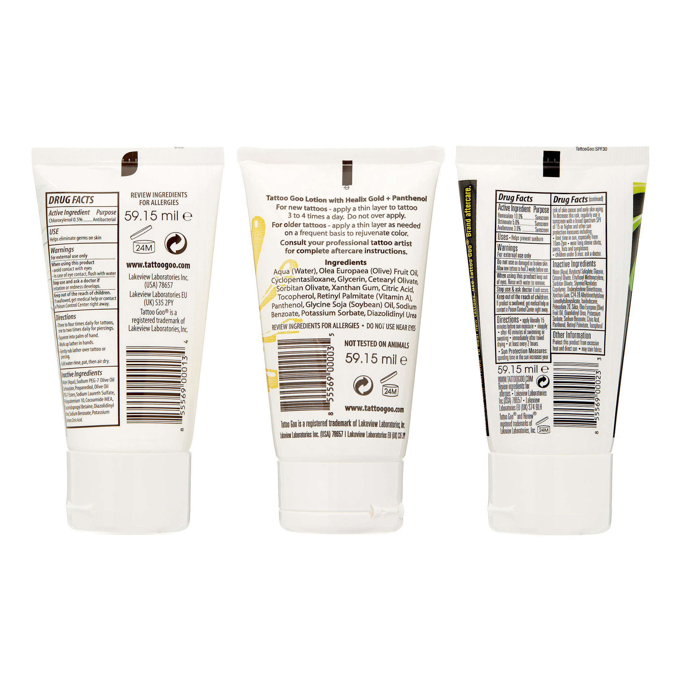 Tattoo Goo Original Aftercare Kit Lotion