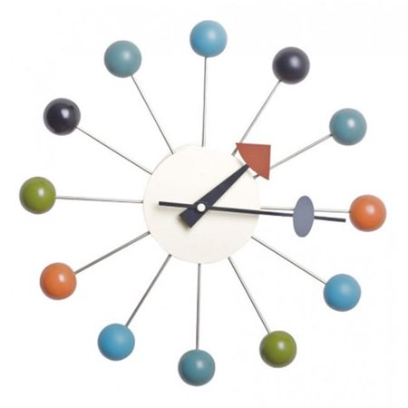 Polder Clock (mod made mm-cl-09 color bubble wall clock)
