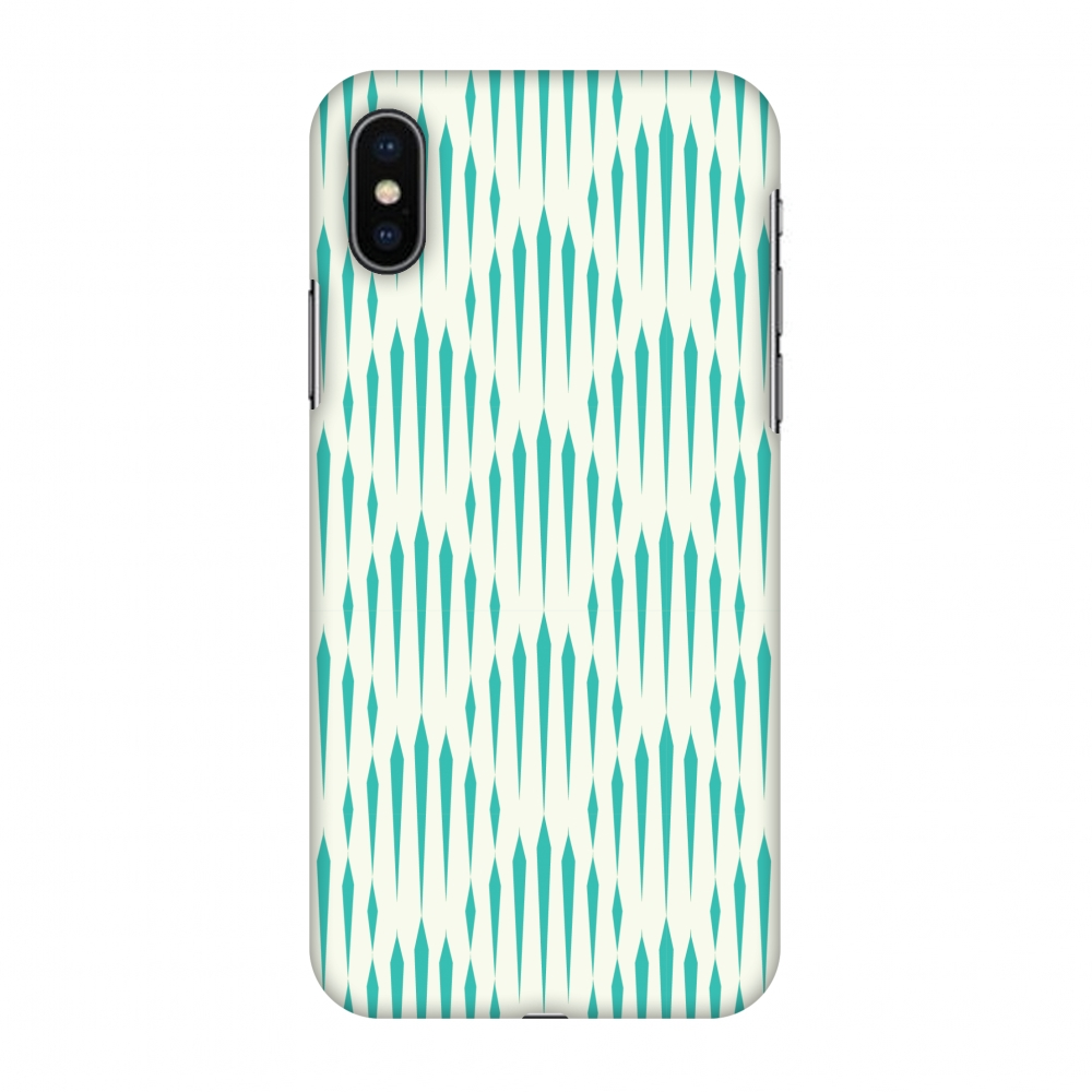iPhone X Case, Premium Handcrafted Designer Hard Snap on Shell Case ShockProof Back Cover with Screen Cleaning Kit for iPhone X - Stripes 1