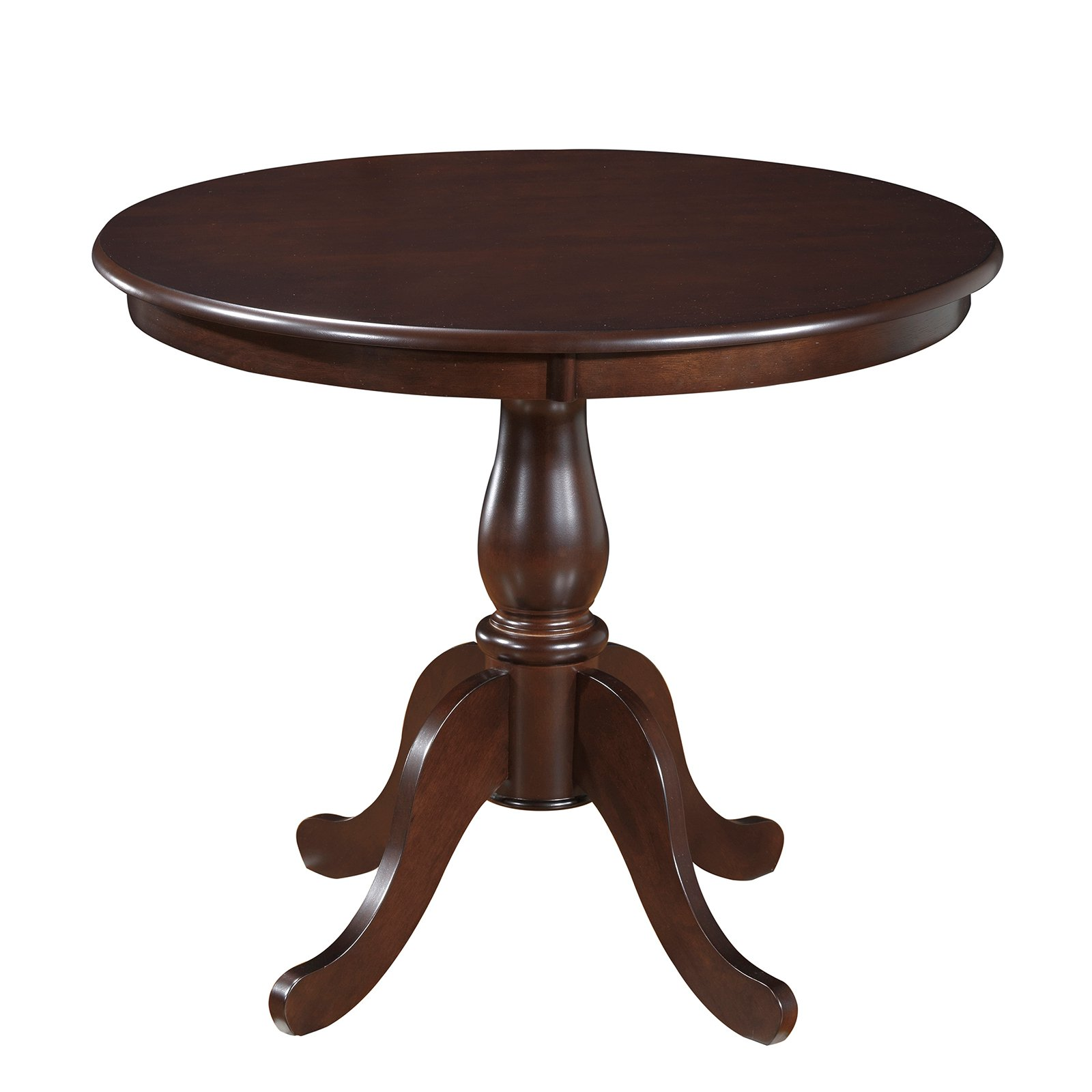 Carolina Chair and Table Winston 36 in. Round Pedestal Dining Table