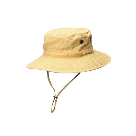 Dorfman Pacific Satin Hat (Dorfman Pacific Outdoor Boonie Bucket Hat - Yellow)