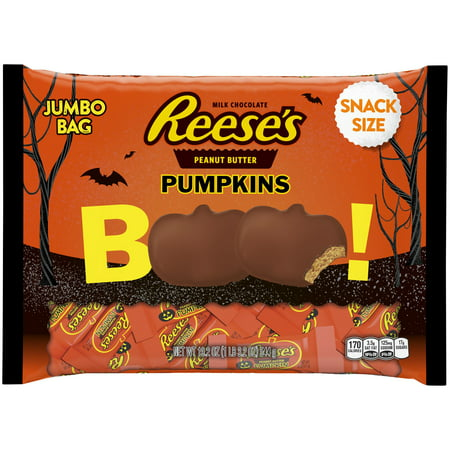Reese's Peanut Butter Halloween Pumpkins Candy, 19.2 oz - Why Do You Get Candy On Halloween