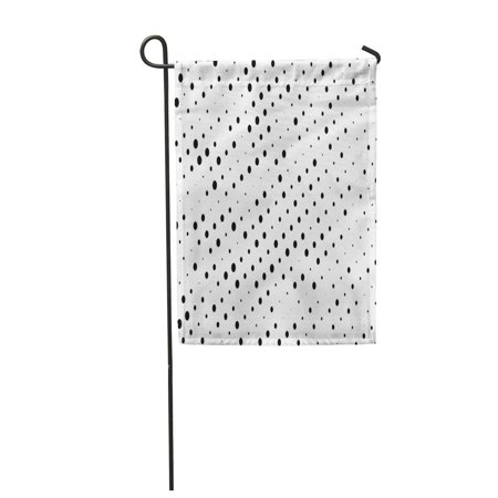 Gradient Dots - KDAGR Halftone Digital Gradient Dotted Pattern Circles Dots Point Small and Large Scale Garden Flag Decorative Flag House Banner 12x18 inch