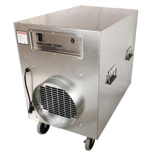 OMNITEC OA2000C Negative Air Machine, 18 in x 24 in, HEPA