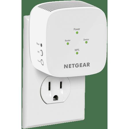 NETGEAR - EX3110 AC750 WiFi Wall Plug Range Extender and Signal Booster