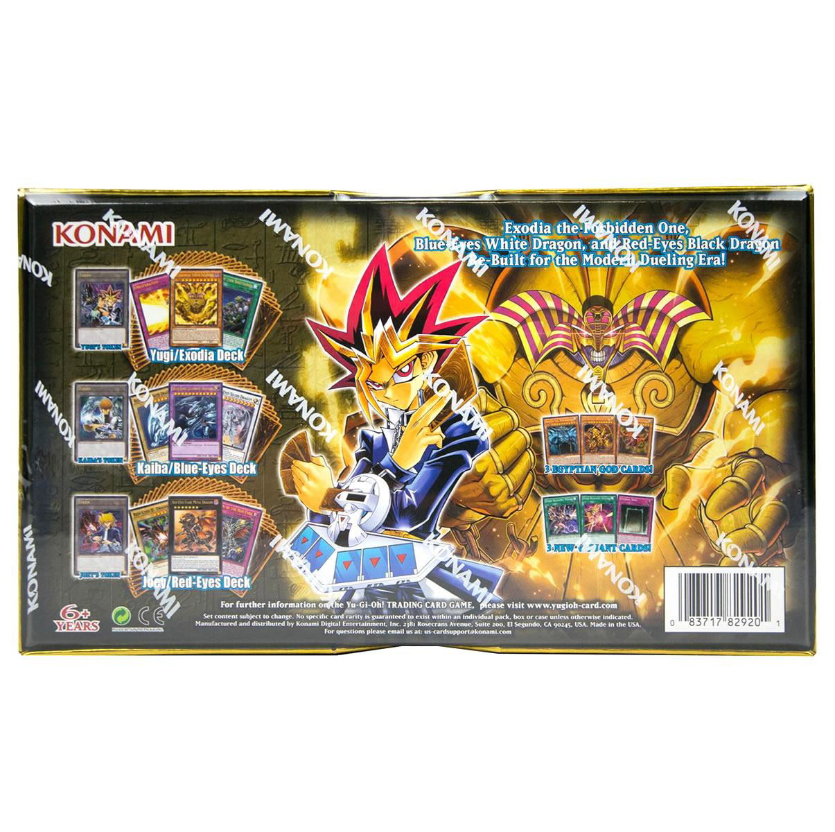 yugioh yugi u0027s legendary decks volume 2 set box 135 cards