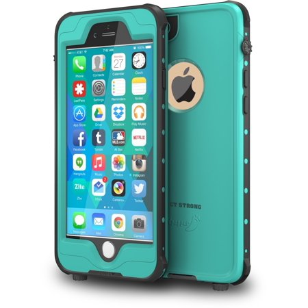 ImpactStrong iPhone 6 Waterproof Case [FingerPrint ID Compatible] Slim Full Body Protection Cover for Apple iPhone 6 / 6s (4.7
