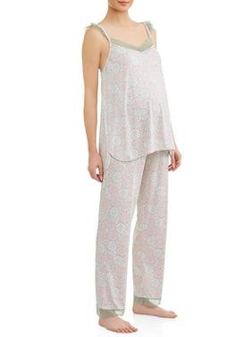4b840335c170 Product Image Maternity Nursing Top and Pants Sleep Set