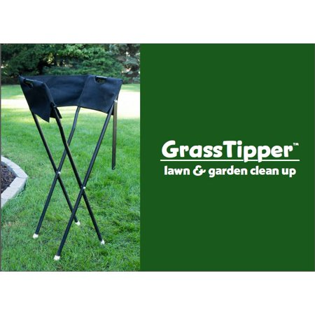 Grass Tipper - Helps to hold the bag when collecting clippings and leaves