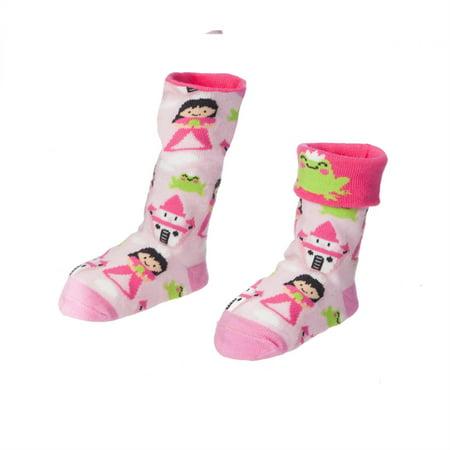 Peek-a-Boo Princess and the Frog Baby Convertible Socks