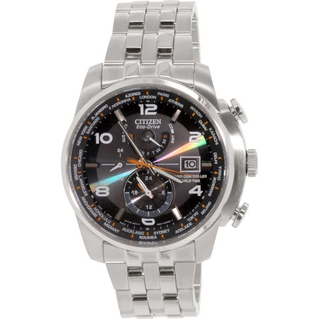 Citizen Eco Drive World Time At Radio Mens Watch  At9010 52E