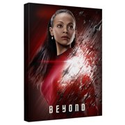 Star Trek Beyond Kirk Beyond Canvas Wall Art With Back Board