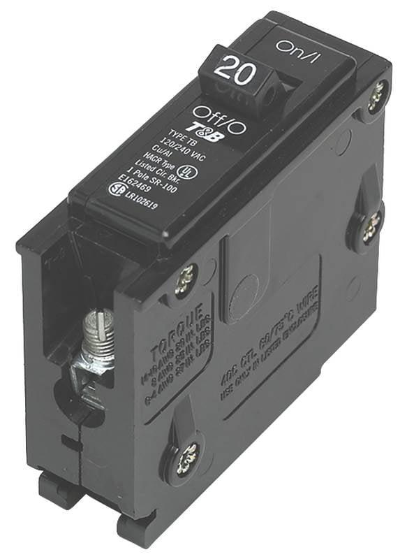 Connecticut Electric VPKUBIZ220 20 Amp Double Pole Zinsco Circuit ...