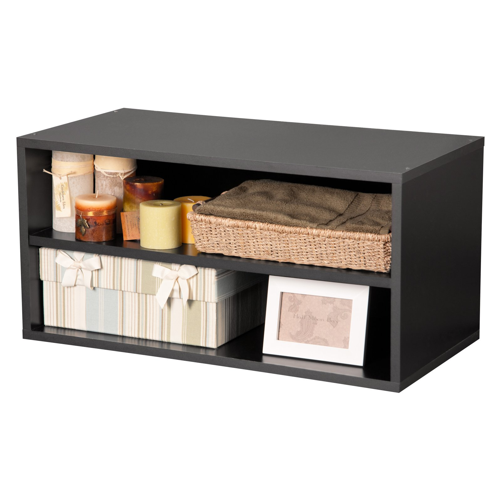 Large Modular Shelf Cube, Black