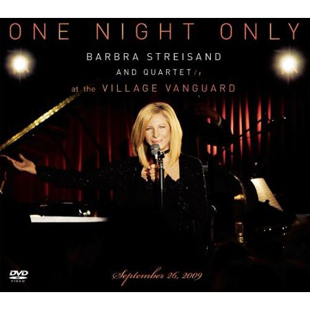 One Night Only: Barbra Streisand & Quartet at the Village Vanguard (CD) (Includes DVD)