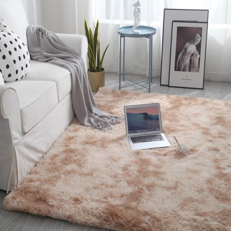 Luxury Soft Faux Sheepskin Fur Area Rugs for Bedside Floor Mat Plush Sofa Cover Seat Pad for Bedroom Living Room ()