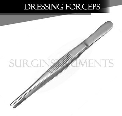24 Pieces Thumb Dressing Forceps Surgical Veterinary Instruments