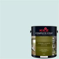 Aqua Ice, KILZ COMPLETE COAT Interior/Exterior Paint & Primer in One, #RE210-01